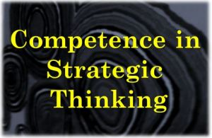Strategic Thinking Competence