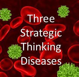 Three Strategic Thinking Diseases